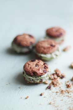Vegan Avocado Mint Chocolate Chip Ice Cream | Free People Blog  #foodphotography #foodstyling