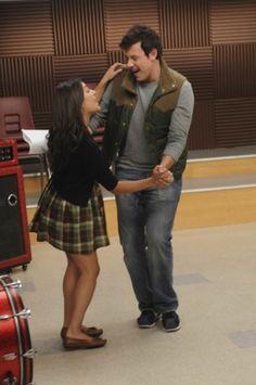 Rachel and Finn. {Glee}