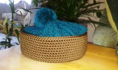 Crochet bag for your hat