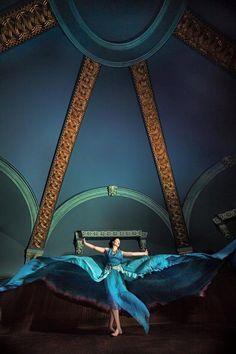 Dress:  Alice Andrews Designs Parachute Dress RENTAL   Model: Erin Leigh Pribyl   Photo: Jeremy Huse   Hair: Angie Heagney   Makeup: Jessika Cole