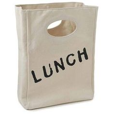 ORGANIC COTTON LUNCH BAG | Eco-Friendly, Sack | UncommonGoods