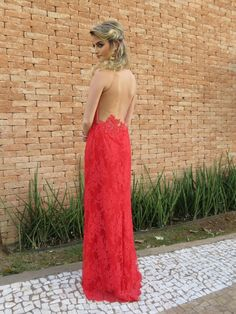 Madrinhas de casamento: Lady in red!