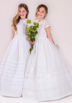 fe7a8ec187  105.71-A-Line Sleeveless Bowed Maxi Satin Flower Girl Dress with Sleeves.  http. UCenter Dress
