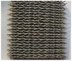 A piece of compound weave conveyor belt