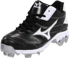 Mizuno Women's 9-Spike Advanced Finch 5 Softball Cleat,Black/White,5.5 M US -- Additional details @ http://www.lizloveshoes.com/store/2016/06/01/mizuno-womens-9-spike-advanced-finch-5-softball-cleatblackwhite5-5-m-us/?gh=240616090339