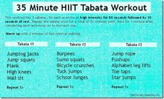 35 min hiit tabata workout thumb Studies We Love to Hear About
