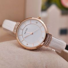 High Quality KEZZI Brand Leather Strap Watches Women Dress Watch Waterproof Ladies Quartz Watch Informations About High Quality KEZZI Brand Leather Strap Watches Women Dress Watch Waterproof Ladi… Pin You … Trendy Watches, Elegant Watches, Beautiful Watches, Cool Watches, Watches For Men, Fancy Watches, Popular Watches, Women's Dress Watches, Breitling Watches