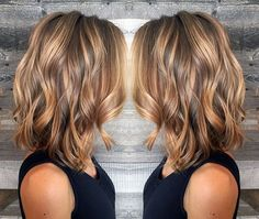 Color bronze blonde and light brunette balayage and babylights