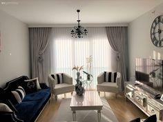Home Interior Design, Curtains, Living Room, Home Decor, Blinds, Decoration Home, Room Decor, Home Living Room, Drawing Room