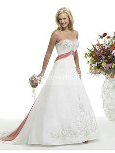 rosa vintage royal brautkleid