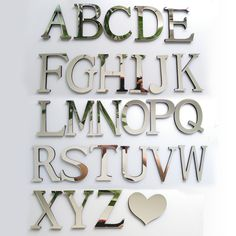 2016 New Acrylic Mirror 3D DIY wall stickers stickers English letters home decoration free shipping creative personality Special ** You can find out more details at the link of the image.