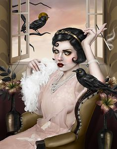 Painted by Aunia Kahn...  I wish she made prints of this. It's quite frameworthy.