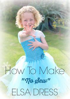 How to make Elsa dress