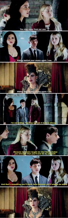 "Regina, Emma, Henry and Evil Queen - 6 * 8 ""I'll be your mirror"" (...and that's when my heart broke into little pieces, much like the mirrors in this episode...)"