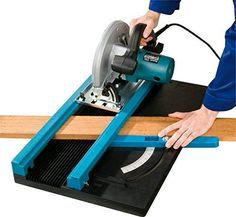 Mitre jig for circular saws