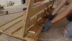 Imagen 11 Wood, Crafts, Ideas, Gardens, Repurposed, Make And Sell, Pallet Furniture, Step By Step, Home