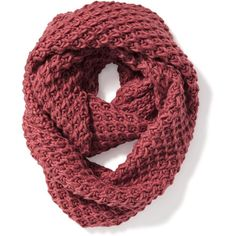 Honeycomb-Knit Infinity Scarf for Women (55 PEN) ❤ liked on Polyvore featuring accessories, scarves, knit infinity scarves, infinity scarf, tube scarves, knit scarves and circle scarf
