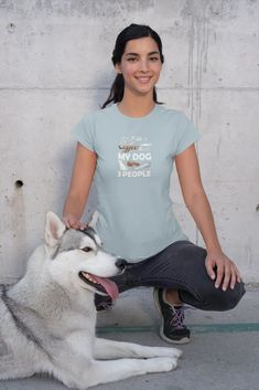 """Love this """"I Like Coffee My Dog and Maybe 3 People"""" funny tshirt? We do too :) Its the perfect cute gift idea for moms, best friends, co-workers, teachers, women or even yourself... #funnyshirt #giftideas #funnytshirt #giftideasformom #KatieMcGrathDesigns Valentines For Mom, Valentine T Shirts, English Bulldog Funny, Peace Love Dogs, Best White Elephant Gifts, Panda Funny, Dinosaur Funny, Funny Tee Shirts, Yoga Tops"""