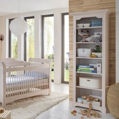 Luxury Babyzimmer Freja B cherregal B den Kiefer massiv White Wash Steens Furniture M bel g nstig kaufen
