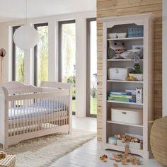 Beautiful Babyzimmer Freja B cherregal B den Kiefer massiv White Wash Steens Furniture M bel g nstig kaufen