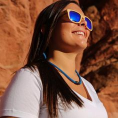 Patented-design customized eyewear retainer. Hand Made in Colorado - USA. FLOATS your sunglasses. Never lose your shades again while surfing, paddleboarding or having fun!