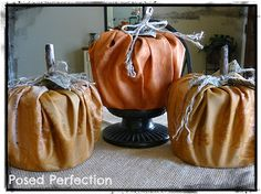 Posed Perfection: Fabulously Frugal Pumpkins