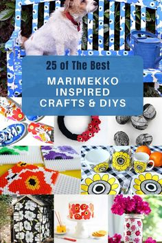 Garden Projects, Craft Projects, Craft Ideas, Crafts To Make, Fun Crafts, Diy Upcycling, Funky Junk, Marimekko, Nordic Style