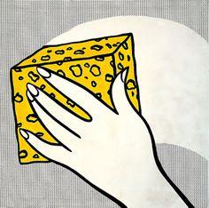 Roy Lichtenstein - Sponge (1962)