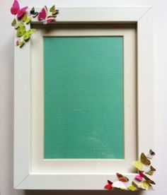 DIY -Butterfly Picture Frame