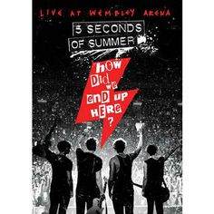 5 Seconds of Summer - How Did We End Up Here? DVD   !!!CANT WAIT!!!!