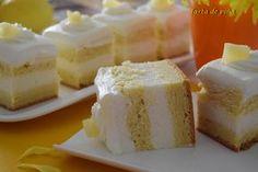 Tarta de piña con crema de mascarpone