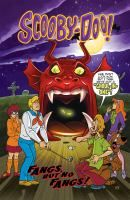 Scooby-Doo in Fangs, But No Fangs! - a graphic novel.    The Mystery, Inc. team investigates a fake vampire, a ghost in a museum, and a werewolf at a golf course. In a monsters of the world segment, Velma looks at the Ojibwa legend of the giant skunk Aniwye.