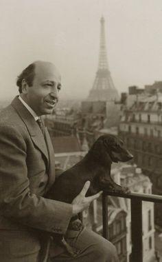 Yousuf Karsh, in Paris, 1950s. Photo courtesy of the Yousuf Karsh Estate
