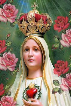 Imágenes religiosas de Galilea: Virgen de Fátima