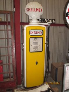 Gilbarco pump at Bus Museum, Newport, Isle of Wight