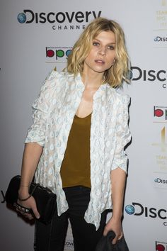 Clemence Poesy at Broadcasting Press Guild Awards 2014 in London. Clemence Poesie, French Beauty, Parisian Chic, Iconic Women, European Fashion, Cool Girl, Casual Outfits, Celebs, Street Style