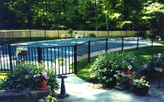 Fenced in inground pool   pool builder where we will help you design and build the pool ...