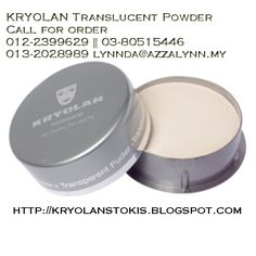 Translucent powder provides transparent output for your finishing touch. Highly recommended for tanned skin coz it's transparent result will help you prevent the whitish look on your make-up application.‪#‎wedding‬ ‪#‎pengantin‬ ‪#‎bridal‬ ‪#‎makeup‬ ‪#‎beauty‬ ‪#‎kryolan‬‪#‎kryolanMalaysia‬ ‪#‎kryolanInMalaysia‬ ‪#‎stokis‬ ‪#‎agent‬ ‪#‎kryolanOriginal‬‪#‎dropshipper‬ ‪#‎borong‬ ‪#‎runcit‬ ‪#‎solekan‬ ‪#‎mekapartis‬ ‪#‎lipstick‬‪#‎HouseOfAzzaLynnBridal‬ ‪#‎HouseOfAzzaLynn‬ ‪#‎kryolanmakeup‬