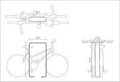 BICYCLE RACK CORNICE BY CITYSI | DESIGN GIBILLERO Rack Design, Stand Design, Bicycle Rack, Vintage Architecture, Bike Parking, Cornice, Floor Plans, Sidewalk, Technology