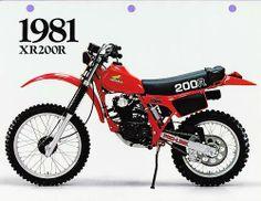 1981- Honda XR200R