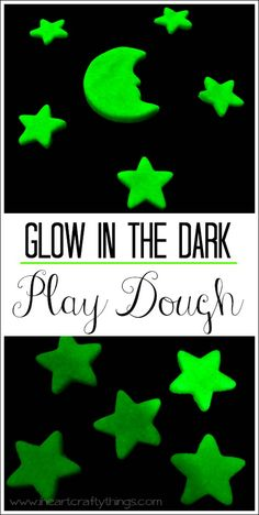 Glow in the Dark Play Dough @ iheartcraftything. Glow Crafts, Vbs Crafts, Preschool Crafts, Crafts For Kids, Vbs Themes, Bible School Crafts, Glow Party, Party Party, Vacation Bible School