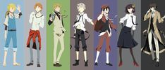 Armed Detective Company (Bungou Stray Dogs) by on DeviantArt Bungou Stray Dogs Wallpaper, Dog Wallpaper, Otaku Anime, Manga Anime, Anime Art, Stray Dogs Anime, Bongou Stray Dogs, Detective, Otaku Problems