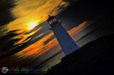 Peggys Cove Light by Rodney Hickey Design Studio, via Flickr