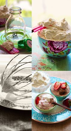 Homemade Whipped Cream! Good for a fruit dip.