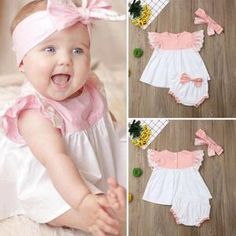 Make your cute little one even cuter with our latest design, make them feel even more pretty and confident.Sizes: Newborn, up to Baby Outfits Newborn, Baby Girl Newborn, Baby Girls, Spring Outfits, Girl Outfits, Spring Clothes, Baby Girl Pajamas, Pink Kids, Spring Collection