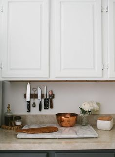 16 Space-Saving Tips for Bakers With Small Kitchens via Brit + Co