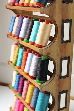 wine rack thread storage  My Go-Go Life