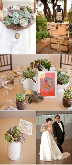 I want to be able to replant my succulents from the wedding and let them grow with us, as well as the family being able to bring them home with them too! I love this!! Eco friendly so not wasting lots of cut flowers!
