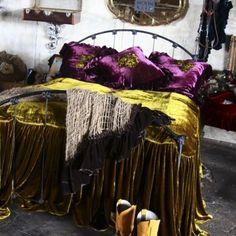 Luxurious bohemian bedroom