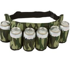 beer belt would make a great white elephant gift, gift for the sports fan or anyone that likes a cold one